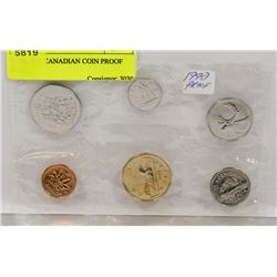 RCM 1990 CANADIAN COIN PROOF SET,