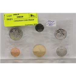 RCM 1988 CANADIAN COIN PROOF SET,