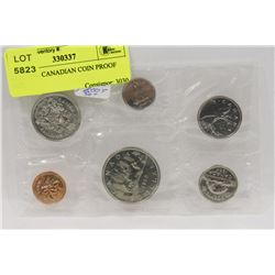 RCM 1982 CANADIAN COIN PROOF SET,