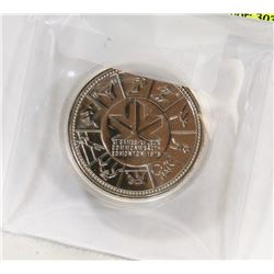 1978 CANADIAN EDMONTON COMMONWEALTH SILVER DOLLAR