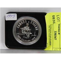 1975 CANADIAN CALGARY STAMPEDE SILVER DOLLAR