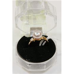 #125-FRESH WATER PEARL RING