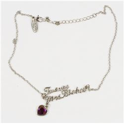 NEW FUTURE MRS. BIEBER NECKLACE