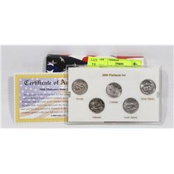 2006 USA MINT QUARTER SET
