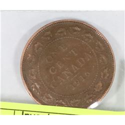 1916 CANADA LARGE PENNY