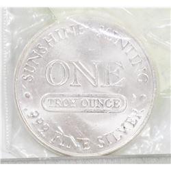 .999 SILVER 1 TROY OUNCE EAGLE COIN