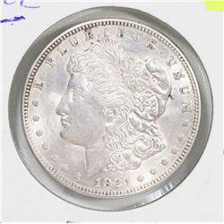 1921 USA MORGAN SILVER $1