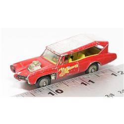 MONKEE MOBILE BY HUSKY MODELS MINI DIECAST CAR
