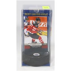 CONNOR MCDAVID PRE NHL CARD PUCK HOLDER.