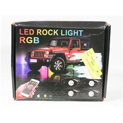 "NEW ""RGB"" LED ROCK LIGHT"