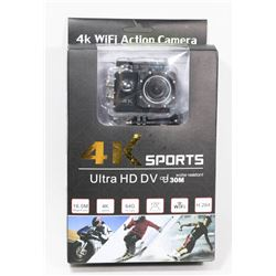 SEALED SPORTS 4 K WIFI ACTION
