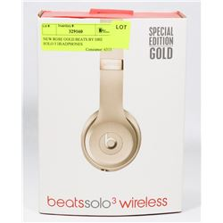REPLICA  ROSE GOLD BEATS BY DRE SOLO 3 HEADPHONES