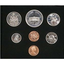 1973 RCM CANADIAN DOUBLE PENNY COIN SET.