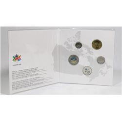 2017 RCM 150 YEAR CANADIAN COIN COLLECTION.