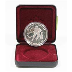 1993 CANADIAN STANLEY CUP SILVER DOLLAR.