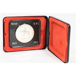 1873-1973 CANADIAN RCMP SILVER DOLLAR.