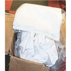CASE OF TWIN SIZE SHEETS