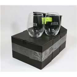 SET OF 6 NEW WATER / WINE GLASSES