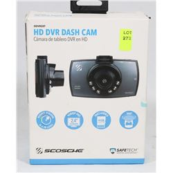 SCOSCHE 1080P HD DASH CAMERA W/ NIGHT VISION