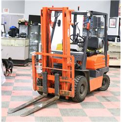 FEATURED TOYOTA 15 LPG 2 STAGE FORKLIFT