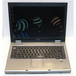TOSHIBA TECRA WIN 7 PRO LAPTOP WITH AC ADAPTOR