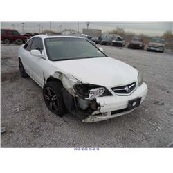 2003 - ACURA CL// REBUILT SALVAGE