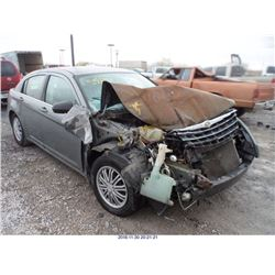 2010 - CHRYSLER SEBRING// REBUILT SALVAGE
