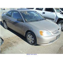 2002 - HONDA CIVIC EX