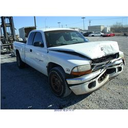2000 - DODGE DAKOTA//REBUILT SALVAGE//BONDED TITLE