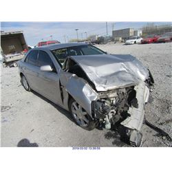 2005 - CADILLAC STS//REBUILT SALVAGE//FLOOD DAMAGE