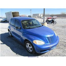 2003 - CHRYSLER PT CRUISER