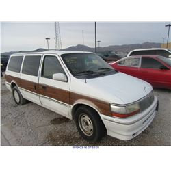 1992 - CHRYSLER TOWN AND COUNTRY