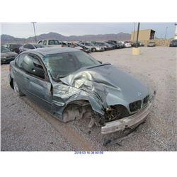 2003 - BMW 325I//BONDED TITLE