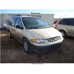 2000 - CHRYSLER GRAND VOYAGER// RESTORED SALVAGE