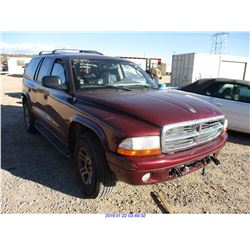 2002 - DODGE DURANGO// RESTORED SALVAGE