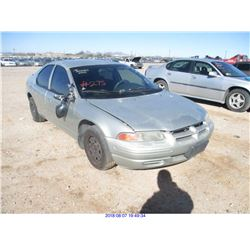2000 - DODGE STRATUS//RESTORED SALVAGE
