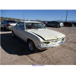 1966 - CHEVROLET CORVAIR COUPE