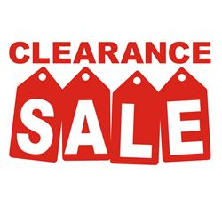 * SPECIAL CLEARANCE LOT *