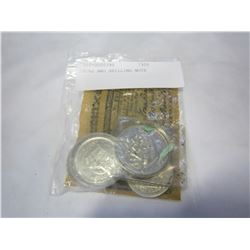 COINS AND SHILLING NOTE