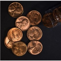25-BU 1946-S LINCOLN WHEAT CENTS