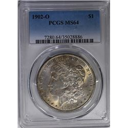 1902 O MORGAN  PCGS MS 64