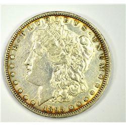 1895-O MORGAN DOLLAR, AU KEY DATE
