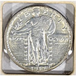 1917-S T2 STANDING LIBERTY QUARTER