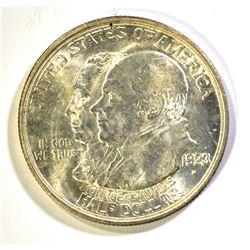 1923-S MONROE COMMEM HALF DOLLAR, CH BU+