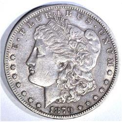1879-CC MORGAN DOLLAR, AU