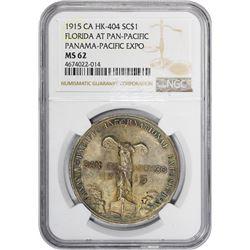 California. San Francisco. Panama-Pacific Exposition. Florida Exposition Fund. HK-404a. Silvered Bro