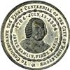 Image 4 : Medal. Connecticut. Middletown. 1884 Middletown Centennial. White Metal. 39 mm. Choice AU, Prooflike