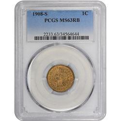 1908-S MS-63 PCGS.