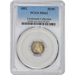 1852 MS-63 PCGS