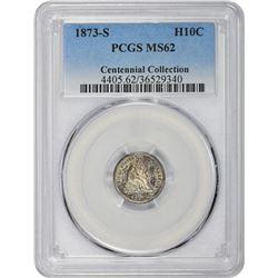 1873-S MS-62 PCGS